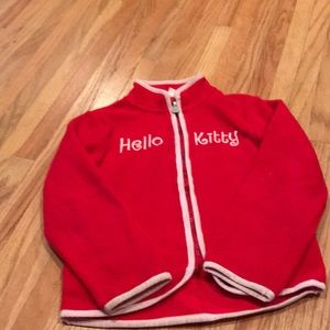 H&M hello kitty fleece jacket
